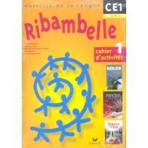 Maîtrise de la langue - CE1, cycle 2 - Série jaune - Cahier d'activités et livret d'entraînement t.1
