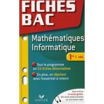 Fiches bac - Mathématiques et informatique - 1Ere L