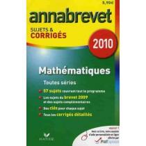 Annabrevet - Mathématiques - Sujets & corrigés