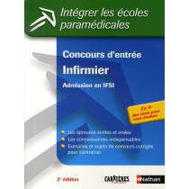 Concours d'entrée infirmier - Admission en ifsi