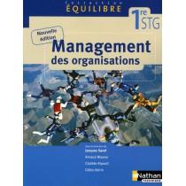 Management des organisations - 1Ere STG - Livre de l'élève (édition 2009)
