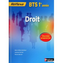 Droit - BTS - 1Ere année - Livre de l'élève (édition 2009)