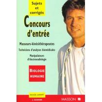 Concours D'Entree Ecoles De Kinesitherapeutes T.1 - Techniciens De Laboratoire